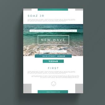Plantilla creativa de folleto de negocios