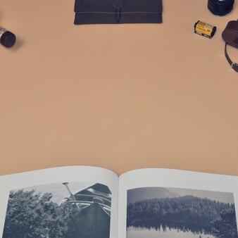 Plantilla de mock up de libro