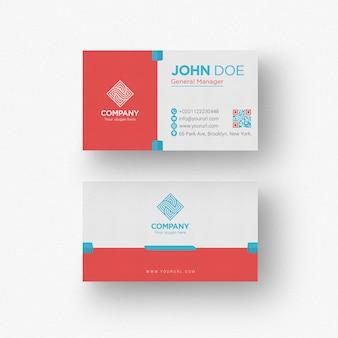 Plantilla de tarjeta de negocios creativa