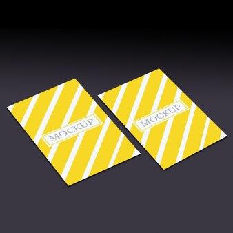 Plantilla de tarjetas de visita