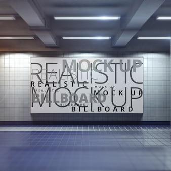 Poster mock up projeto