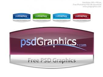 PSD personalizado etiquetas