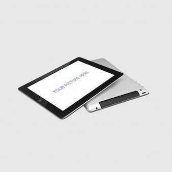 Realista tableta prototipo