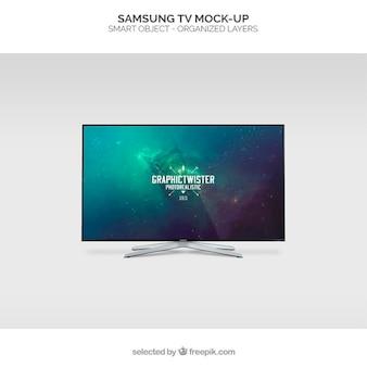 Samsung tv maqueta