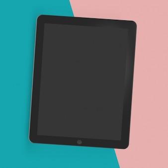 Tablet mock up modelo
