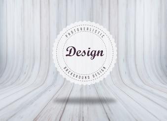 Textura de madeira realista