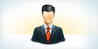 Usuário de negócios ícone psd e png