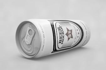 Vista lateral a cerveja pode se maquiar