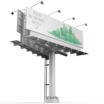 Billboard maquette conception