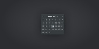 Calendrier Datepicker