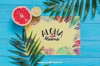 Composition Aloha
