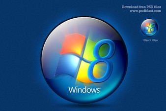 Le logo windows t l charger icons gratuitement for Fenetre dos windows 8