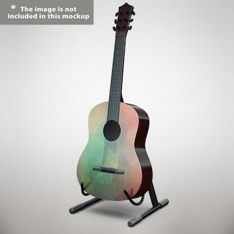 Guitare maquette conception