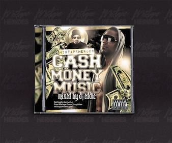 Hip Hop CD modèle de couverture