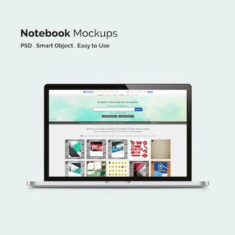 Laptop maquette