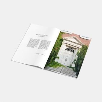 Le magazine Ouvrir maquette
