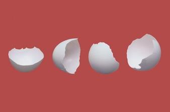 Les œufs fêlés