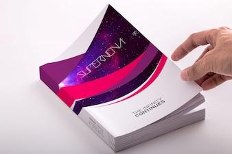 Livre maquette de conception