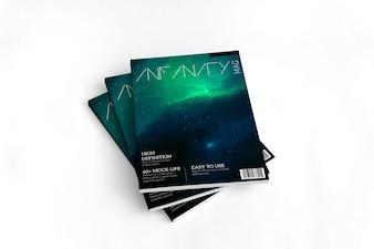 Magazine maquette conception