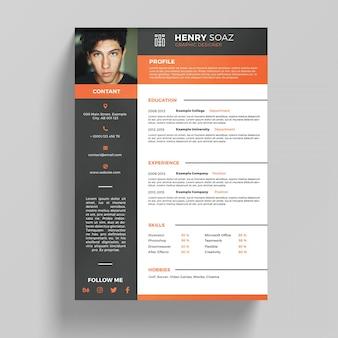 Modèle de CV élégant