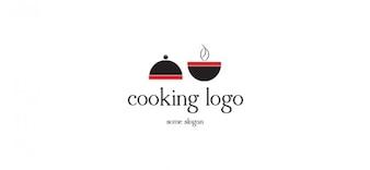 Modèle de logo de cuisson vecteur
