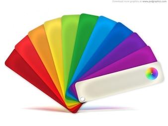 Palette de couleurs icône (PSD)