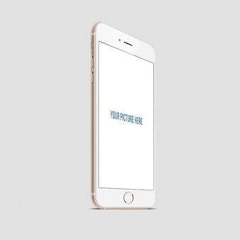Réaliste iphone Mockup