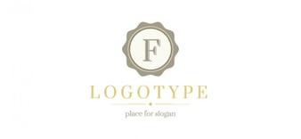 Rétro modèle de conception de logo