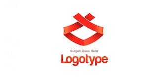 Ruban modèle de conception de logo