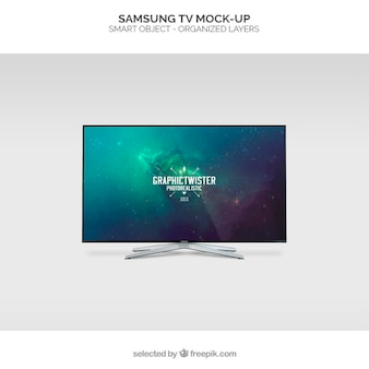 Samsung tv maquette