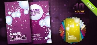 Template gratuit PSD Business Card