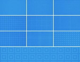 20 senza soluzione di continuità Photoshop griglia Patterns