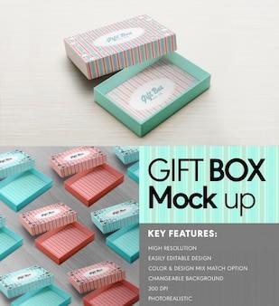 Confezione regalo mock up