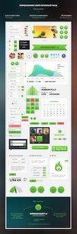 Incredibile kit di interfaccia utente psd 2