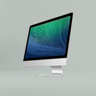 Lo schermo del computer si immerge
