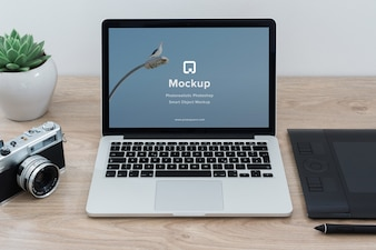Mac mock up di progettazione