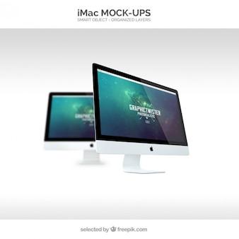 Mockup Imac