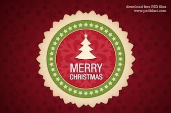 Natale, elemento di design psd