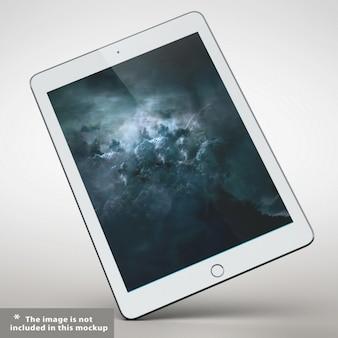 Presentazione tablet realistico