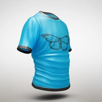 Shirt mock up di progettazione
