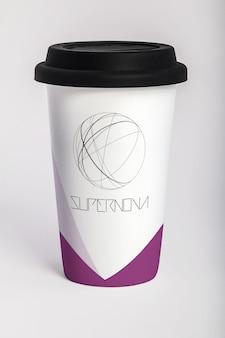 Togliete tazza di caffè mock up