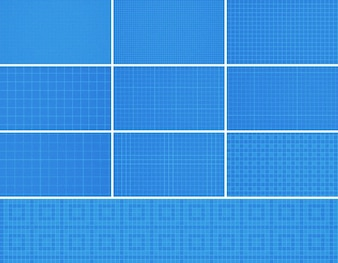 20 Nahtlose Photoshop Grid Patterns
