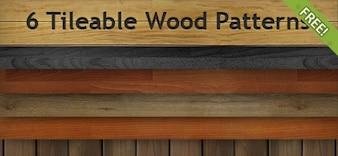 6 Free Kachelbarer Holzdekore