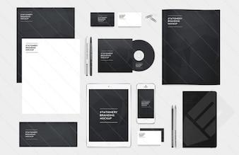 Branding und Identität Pack psd