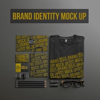 Briefpapier Mock-up-Design
