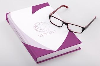 Buch Mock-up-Design