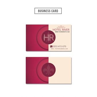 Elegante Visitenkarten-Design