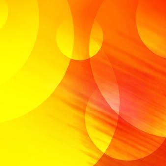 Gelb und orange Hintergrund