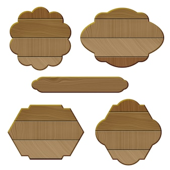 Holzrahmen Sammlung