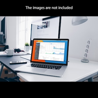 Laptop mock up